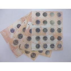 Листы под монеты купить коллекции карманных календариков
