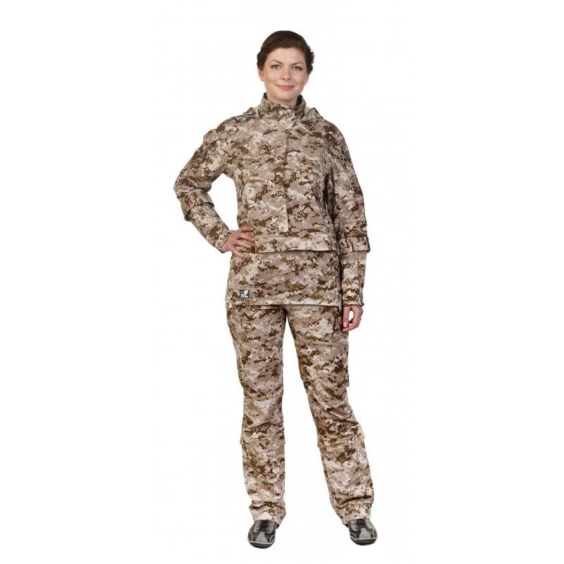 Женская одежда камуфляж