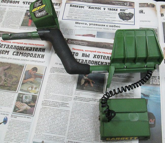 Металлоискатель Garrett GTP 1350. г.Калуга - МДРегион.ру