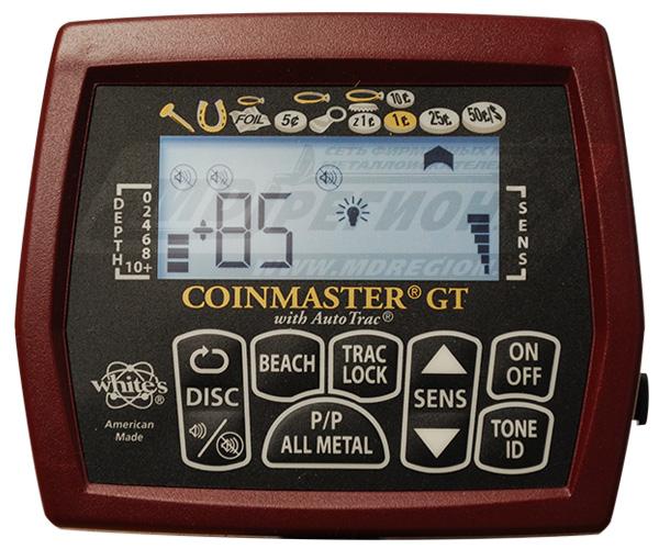 White's coinmaster gt. обзор металлоискателя. - мдрегион.ру.