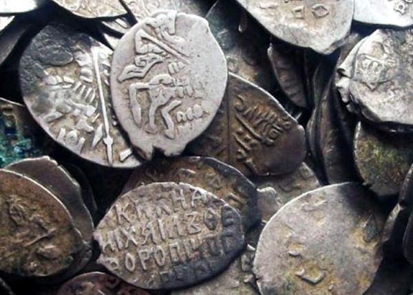Клады монет чешуи :: находки кладов.