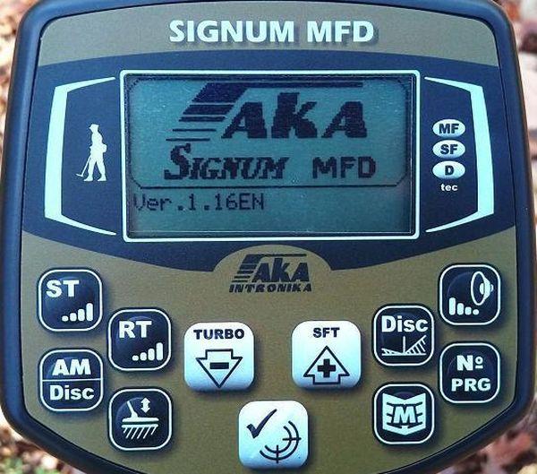 Новая глубинная прошивка для ака signum mfd - фото, видео - .