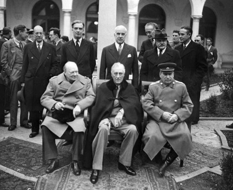 the rich history of the yalta conference The yalta conference was a world war ii meeting between the heads of state of the united states, great britain, and the soviet union roosevelt, churchill, and stalin met in february, 1945 at yalta, in the crimea, to plan the occupation of postwar germany.