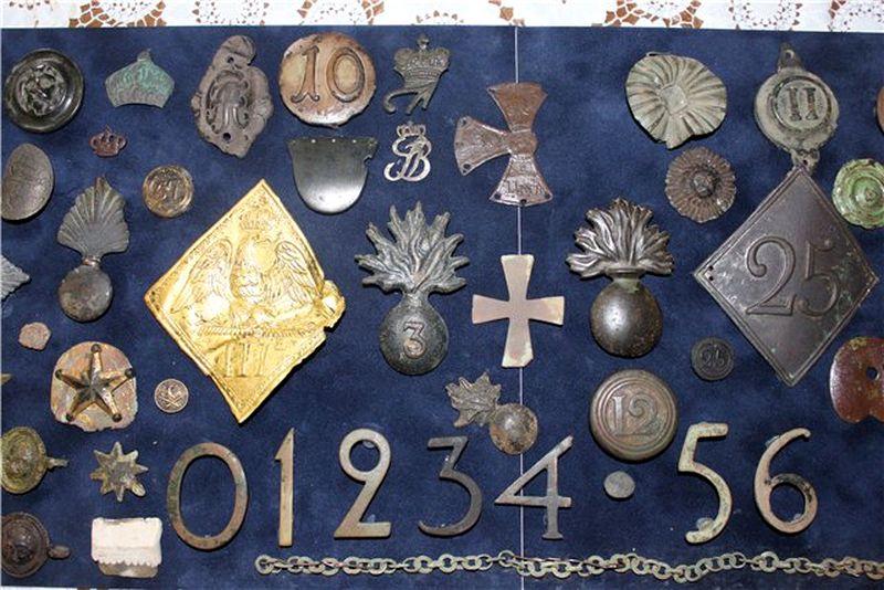 Военные реликвии 1812 года: места, виды находок, особенности.
