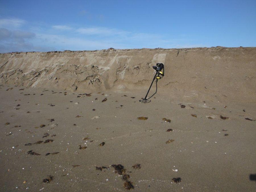 Пляжный обрыв: чем его обследовать? - общий раздел - кладоис.
