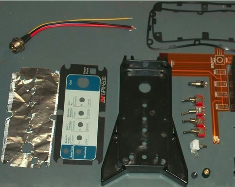 Ремонтный комплект торцевой панели GPX4500 со стороны катушки