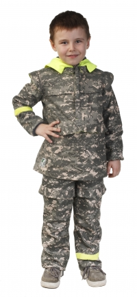 Детский Костюм для Дошкольной Возрастной Группы52 104 зеленый камуфляж