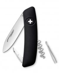 Нож перочинный SWIZA D01, чёрный