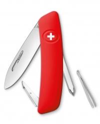Нож перочинный SWIZA D02, красный, блистер