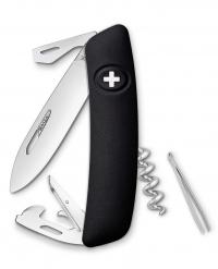 Нож перочинный SWIZA D03, чёрный