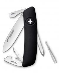 Нож перочинный SWIZA D04, черный, блистер