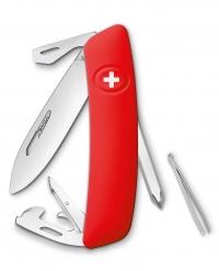 Нож перочинный SWIZA D04, красный, блистер