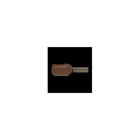 Точилка ручная Morakniv® Diamond Sharpener 600 Fine алмазная в кожаном чехле