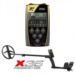 Металлодетектор XP ORX (Катушка 22см X35, Без наушников, Блок)