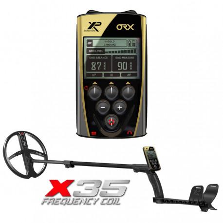 Металлодетектор XP ORX (Катушка 28см X35, Без наушников, Блок)