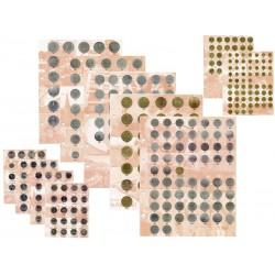 Комплект разделителей для коллекции юбилейных и разменных монет СССР