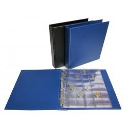 Альбом вертикальный коллекция для монет, 210x230 мм, формат Numis, лист скользящий