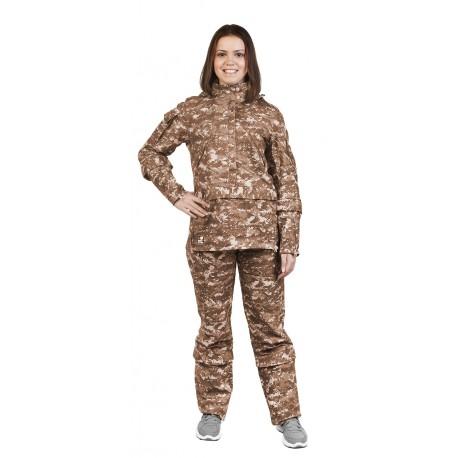 Детский костюм Биостоп для старшей школьной группы (песочный камуфляж)