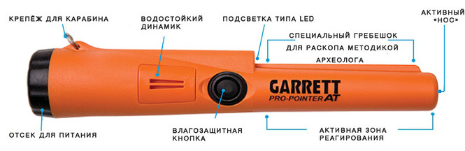 Обзор Garrett Pro Pointer AT