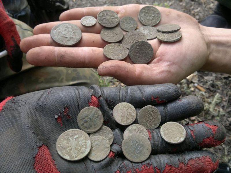 Клады найденные в россии фото